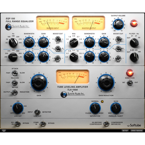 Softube Summit Audio Grand Channel Plug-In (Upgrade from EQF-100, Download)