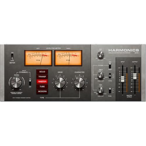 Softube Harmonics - Analog Saturation Processor for Pro Audio Applications (Download)