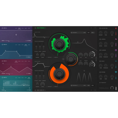 Softube Parallels - Dual Granular-Source Synthesizer Plug-In (Download)