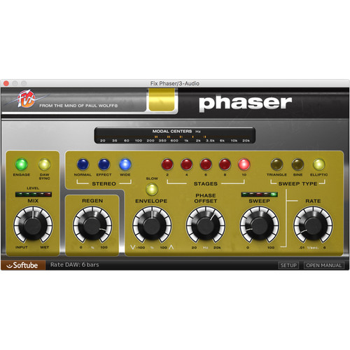 Softube Fix Phaser - Phaser Effect Plug-In (Download)