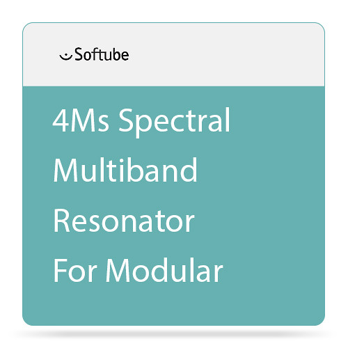 Softube 4ms Spectral Multiband Resonator (SMR) - Expansion Module for Modular Virtual Synthesizer (Download)