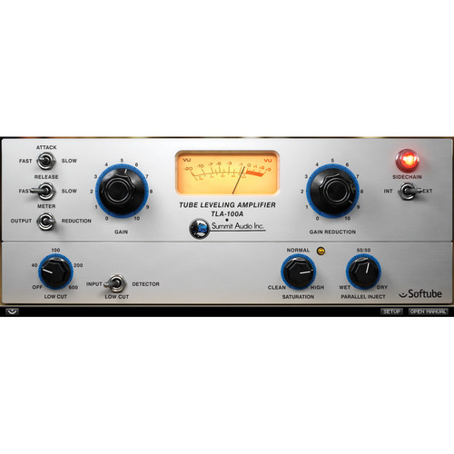 Softube TLA-100A Leveling Amp Compressor Plug-In (Native)