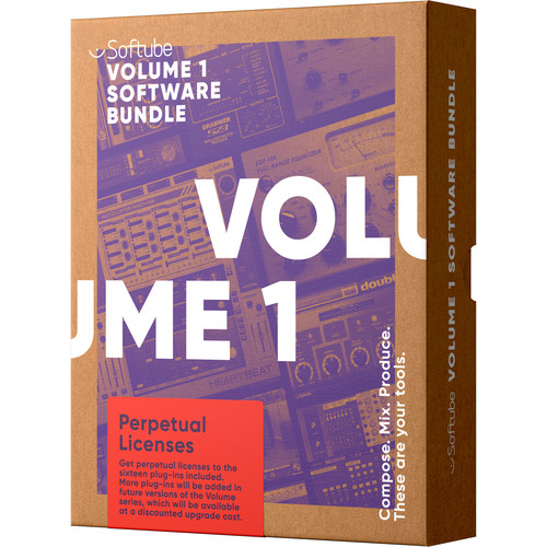Softube Volume 1 Plug-In Bundle - Upgrade from TSAR-1 Reverb (Download)
