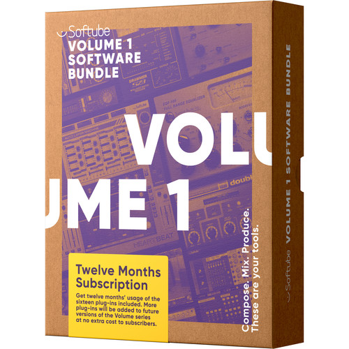 Softube Volume 1 Plug-In Bundle (12 Month License, Download)