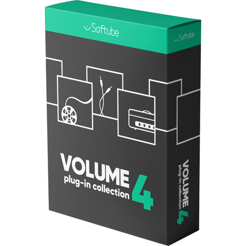 Softube Volume 4 Software Plug-In Bundle for Pro-Audio Applications (Upgrade from Volume 2, Download)