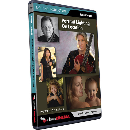 Software Cinema Training DVD: Portrait Lighting on Location