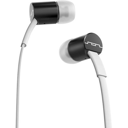 SOL REPUBLIC Jax In-Ear Headphones (Black and White)