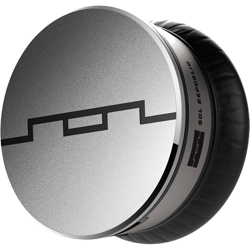 SOL REPUBLIC Tracks V10 HD Sound Engine Earcups with Drivers (Pair, Chrome)