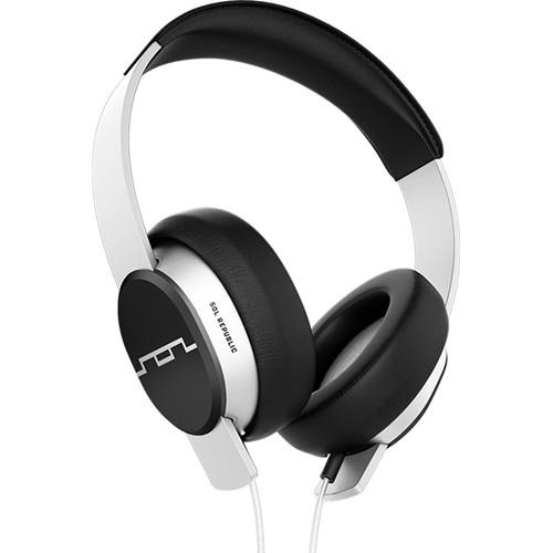 SOL REPUBLIC Master Tracks Over-Ear Headphones (White)