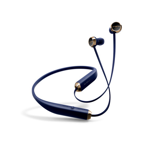 SOL REPUBLIC Shadow Wireless Earphones (Navy/Gold)