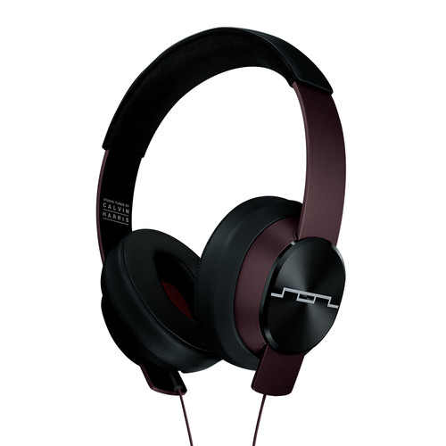SOL REPUBLIC Master Tracks XC Studio-Tuned Headphones by Calvin Harris (Red)
