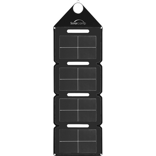 Solar Camp Solympic Hue 7.6W Solar Charger (Black)