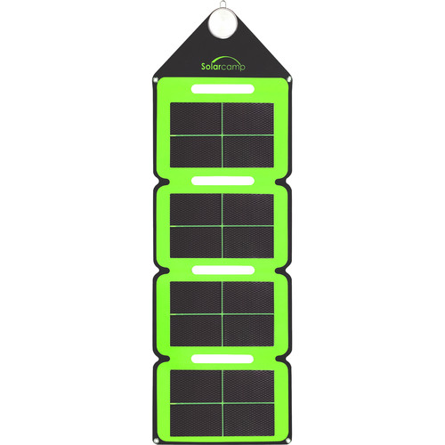 Solar Camp Solympic Hue 7.6W Solar Charger (Green)