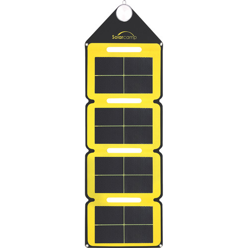 Solar Camp Solympic Hue 7.6W Solar Charger (Yellow)