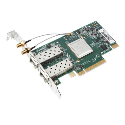 Solarflare SFN6322F Dual Port 10 GbE SFP+ Server Adapter