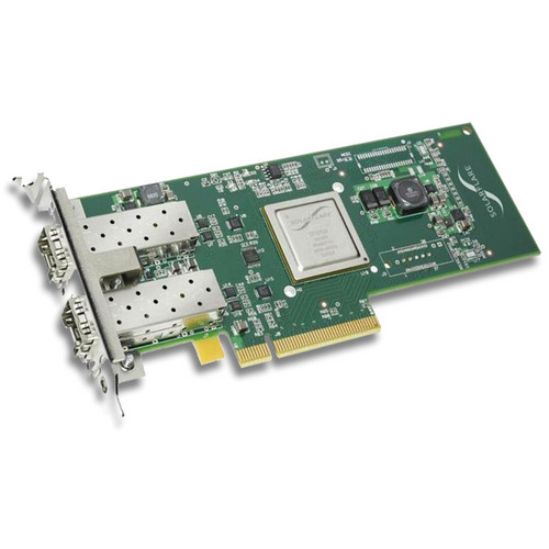 Solarflare SFN5122F Server Adapter and SFM10G-SR 10GBASE-SR Transceiver (Bundle)