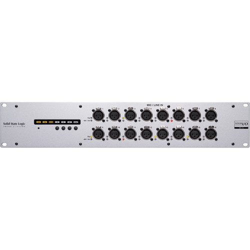 Solid State Logic SB i16 SuperAnalogue Stagebox with 16 Inputs & Dante I/O