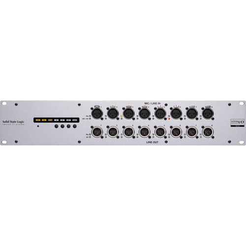 Solid State Logic SB 8.8 SuperAnalogue Stagebox with 8 Inputs, 8 Outputs & Dante I/O