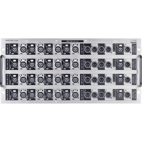 Solid State Logic SB 32.24 Rackmount 32-In/24-Out Dante Stagebox