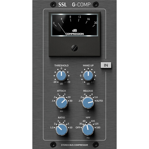 Solid State Logic SSL Stereo Bus Compressor Module for 500 Format Rack