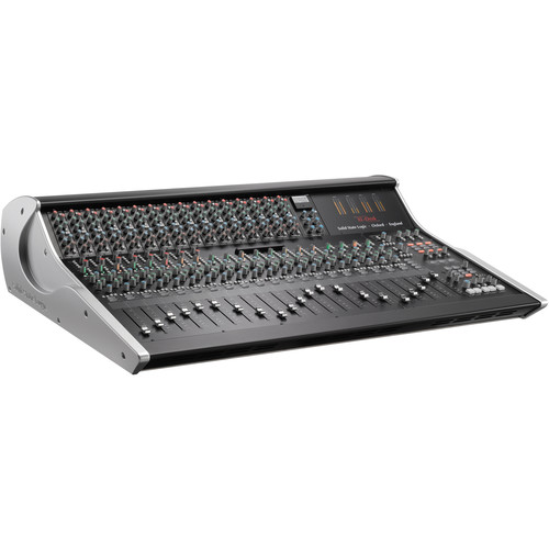 Solid State Logic XL-Desk Mixing Console with 16 E Series EQ Modules