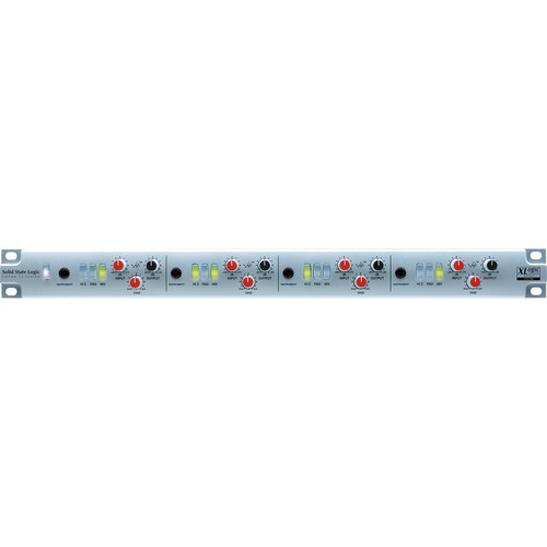 Solid State Logic Alpha VHD-Pre Rackmount 4-Channel Microphone Preamplifier
