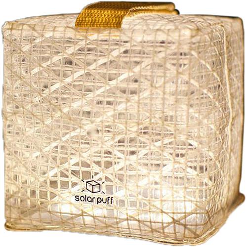 Solight Design SolarPuff Collapsible Warm-White LED Lantern