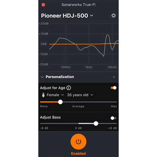 SONARWORKS True-Fi Desktop App Headphone Correction Software (Download)