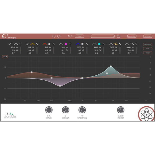 Sonible Entropy: EQ+ - Transient-Shaping Software for Music and Post (Download)