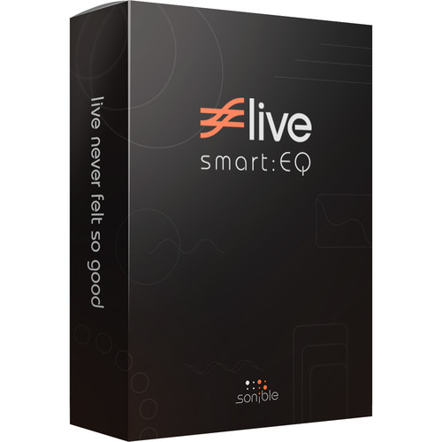 Sonible Smart:EQ Live - Intelligent Equalization Software for Live Mixing (Download)