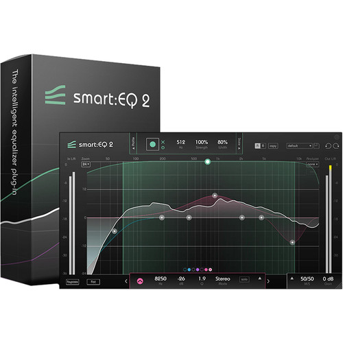 Sonible smart:EQ 2 Upgrade - Intelligent Equalizer Plug-In (Download)