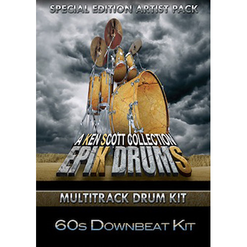 Sonic Reality EpiK DrumS - Sixties Downbeat Expansion Pack for BFD2/3 (Download)