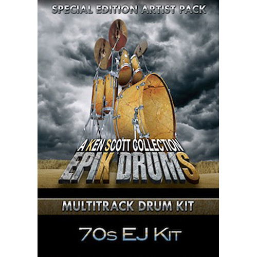 Sonic Reality EpiK DrumS - Seventies EJ Kit Expansion Pack for BFD2/3 (Download)