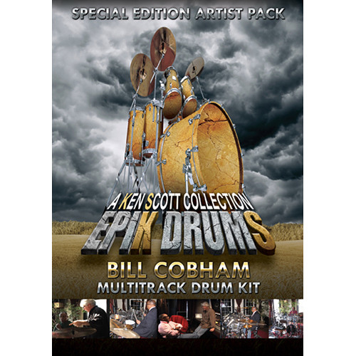 Sonic Reality EpiK DrumS - Bill Cobham Kit Expansion Pack for BFD2/3 (Download)