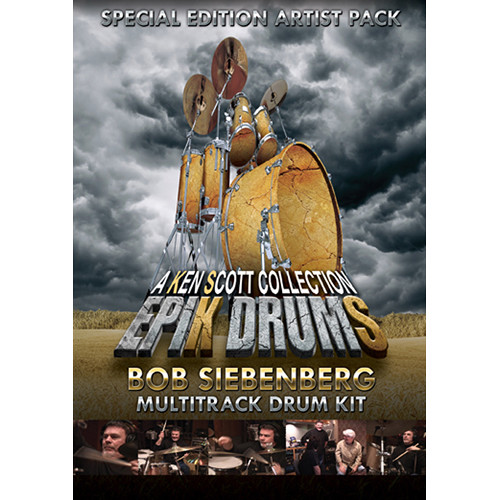 Sonic Reality EpiK DrumS - Bob Siebenberg Kit Expansion Pack for BFD2/3 (Download)