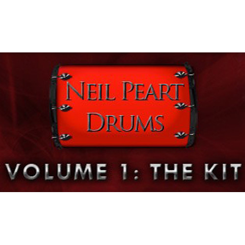 Sonic Reality Neil Peart Drums Vol. 1: The Kit - Expansion Pack for BFD2/3 (Download)