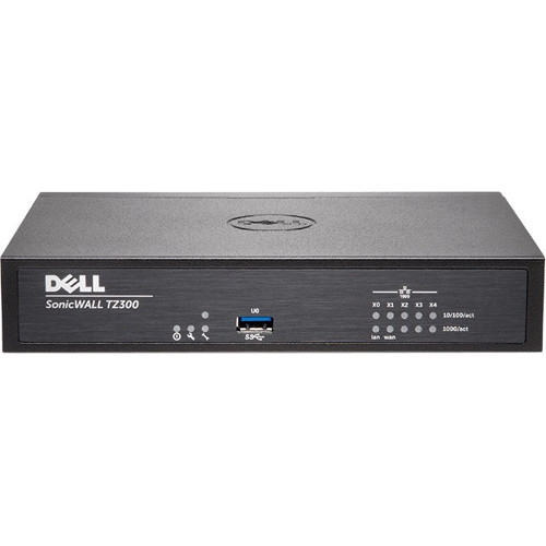SonicWALL TZ300 Wireless-AC Firewall Appliance with 1 Year TotalSecure