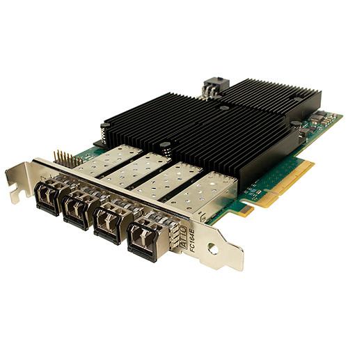 Sonnet Quad Channel 16 Gb/s Fibre Channel Host Bus Adapter