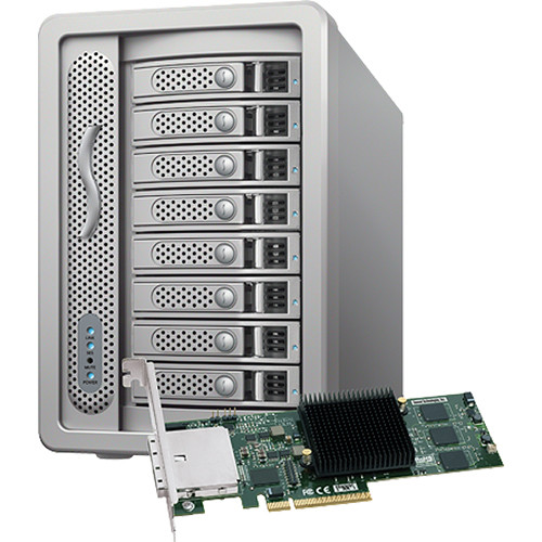 Sonnet Fusion DX800Raid with PCIE Controller-0TB