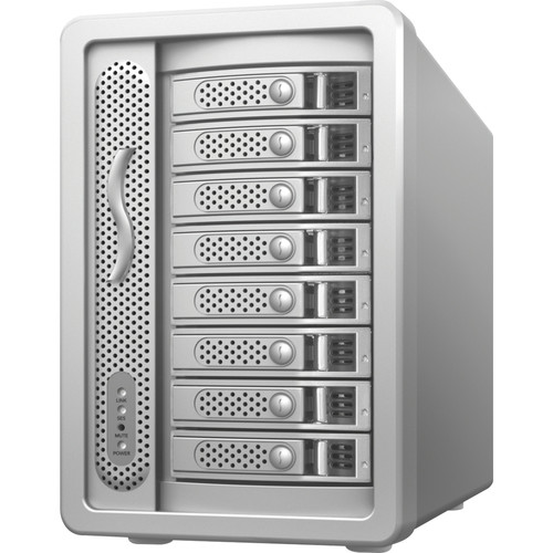 Sonnet Fusion DX800RAID 64TB 8-Bay Mini-SAS RAID Array with Controller (8 x 8TB)