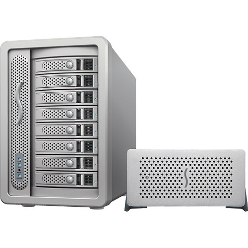 Sonnet 32TB Fusion DX800RAID 8-Bay Thunderbolt Storage Solution