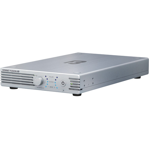 Sonnet Fusion F3 Portable 2-Drive Hardware RAID Storage System (8 TB)