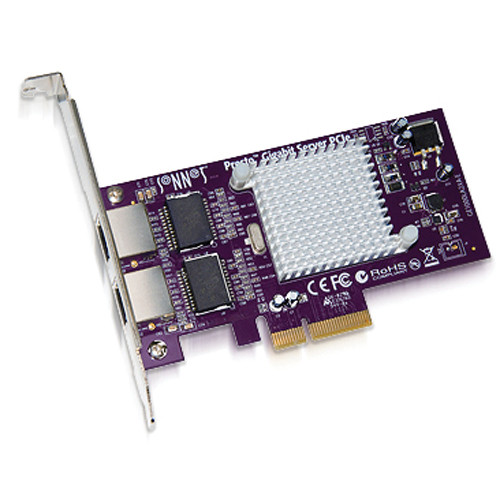 Sonnet 2-Port Presto 10 GB Ethernet PCI Express Adapter Card