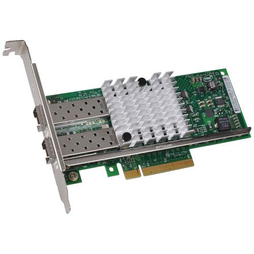 Sonnet Presto 10GbE Dual SFP+ Slot x8 PCIe 2.0 Network Adapter Card