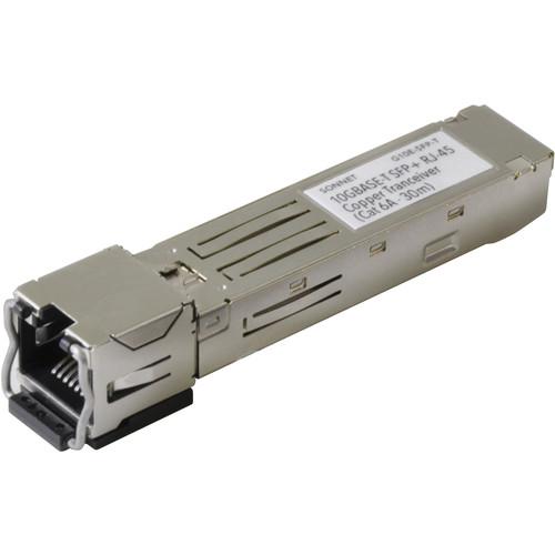 Sonnet 10GBASE-T SFP+ to RJ45 Transceiver (98')