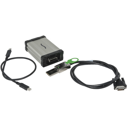 Sonnet Qio Thunderbolt Interface Kit - Adapter for Qio, Qio CF4, Qio E3 Media Readers