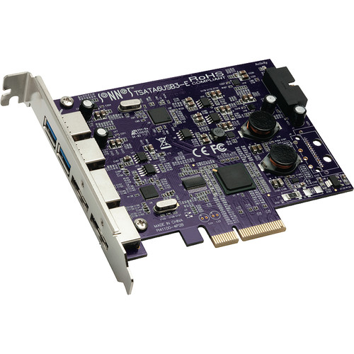 Sonnet Tempo Duo PCIe eSATA 6 Gb/s + USB 3.0 PCI Express Card
