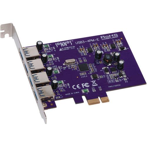 Sonnet USB3-4PM-E Allegro 4-Port USB 3.2 Gen 1 PCI Express Card