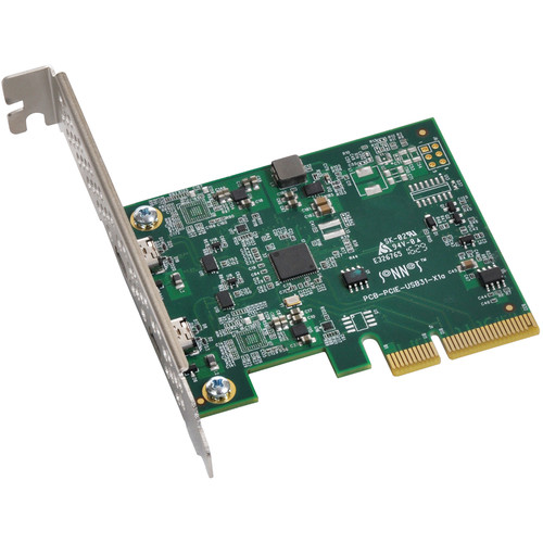 Sonnet Allegro USB Type-C 3.1 2-Port 10Gb PCIe Card
