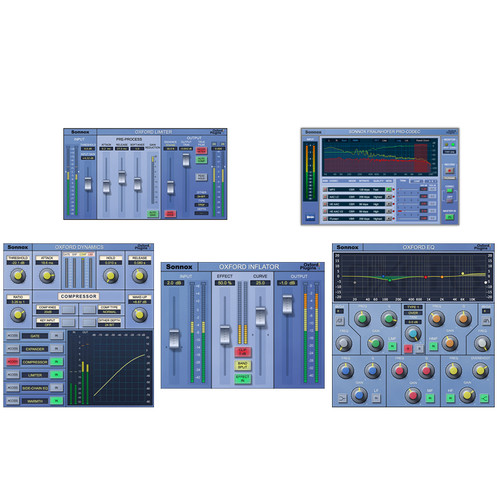 Sonnox Mastering Plug-In Bundle (Pro Tools HD-HDX, Download)
